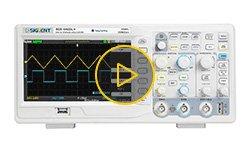 Видеообзор цифровых осциллографов SIGLENT серии SDS1000CML+
