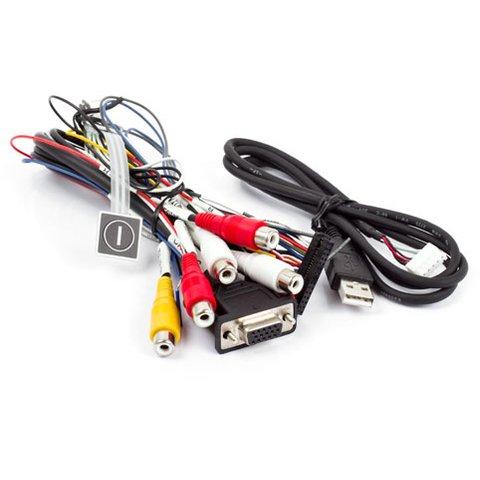 Набір кабелів для відеоінтерфейсів для Cadillac Escalade