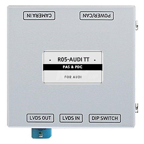 Адаптер для подключения камеры заднего вида в Audi TT c парковочными линиями