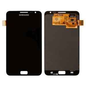 LCD for Samsung I9220 Galaxy Note, N7000 Note Cell Phones, (black, with touchscreen, original (change glass) )