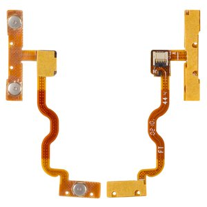 Flat Cable Apple iPod Touch 2G, iPod Touch 3G, (start button, sound button, with components)