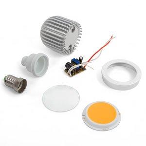 LED Light Bulb DIY Kit TN-A43 5 W (warm white, E14)