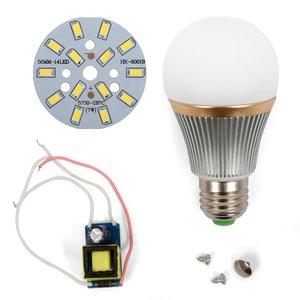 LED Light Bulb DIY Kit SQ-Q22 7 W (cold white, E27)