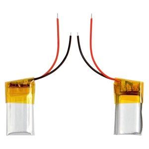 Battery, (20 mm, 11 mm, 4.0 mm, Li-ion, 3.7 V, 60 mAh)