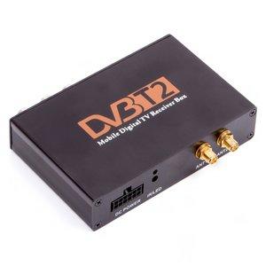 Car DVB-T2 HEVC TV Receiver