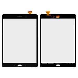 Touchscreen for Samsung T550 Galaxy Tab A 9.7 , T555 Galaxy Tab A 9.7 LTE Tablets, (brown)
