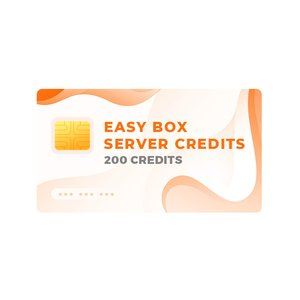 Easy-Box Server Credits Pack with 200 Credits