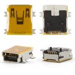 Conector de carga puede usarse con Motorola A1200, E380, E680, E770, K1, K2, V360, V3x, V3xx, W220, Z3, Z6, 5 pin, mini-USB tipo-B