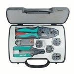 Juego de herramientas para  cable coaxial Kit Pro'sKit 6PK-330K