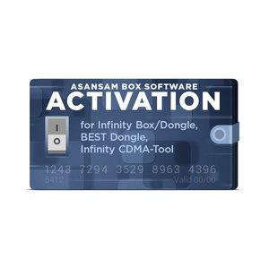 Активация AsanSam Box для Infinity Box / Dongle, BEST Dongle, Infinity CDMA-Tool