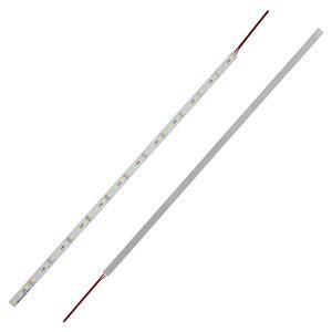 Светодиодная линейка на алюминиевой основе, 50 см, 5630, CW (холодный белый), 6 Вт