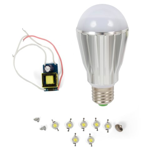 Комплект для збирання світлодіодної лампи SQ Q17 7 Вт природний білий, E27
