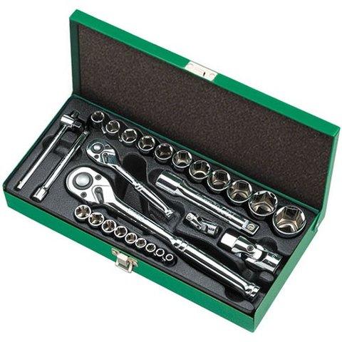 Набір інструментів у кейсі TOPTUL GCAD2802