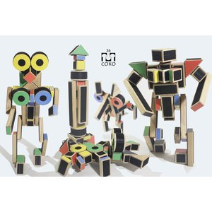 DIY Construction Set COKO Blocks 36