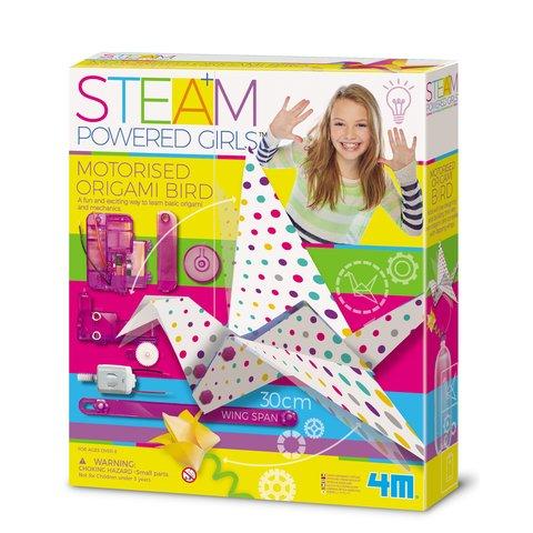 STEAM-набор для девчонок 4M Птичка-технооригами 00-04903