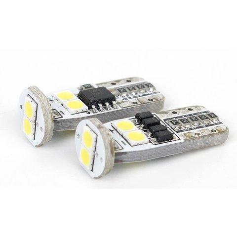 LED Parking Lamp W5W UP 2G N6 T10 3030SMD Canbus white, 12 14 V